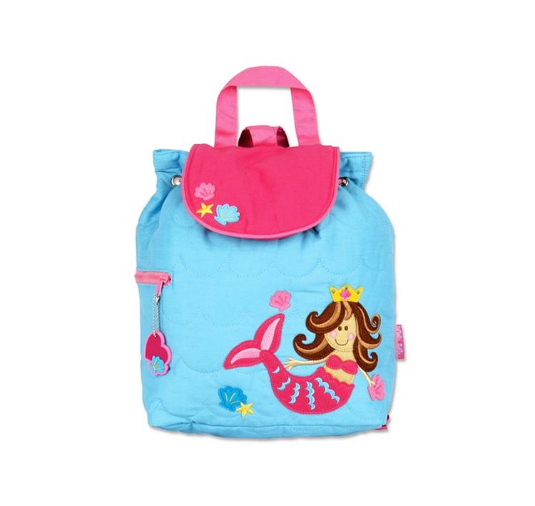 儿童可爱美人鱼造型休闲包