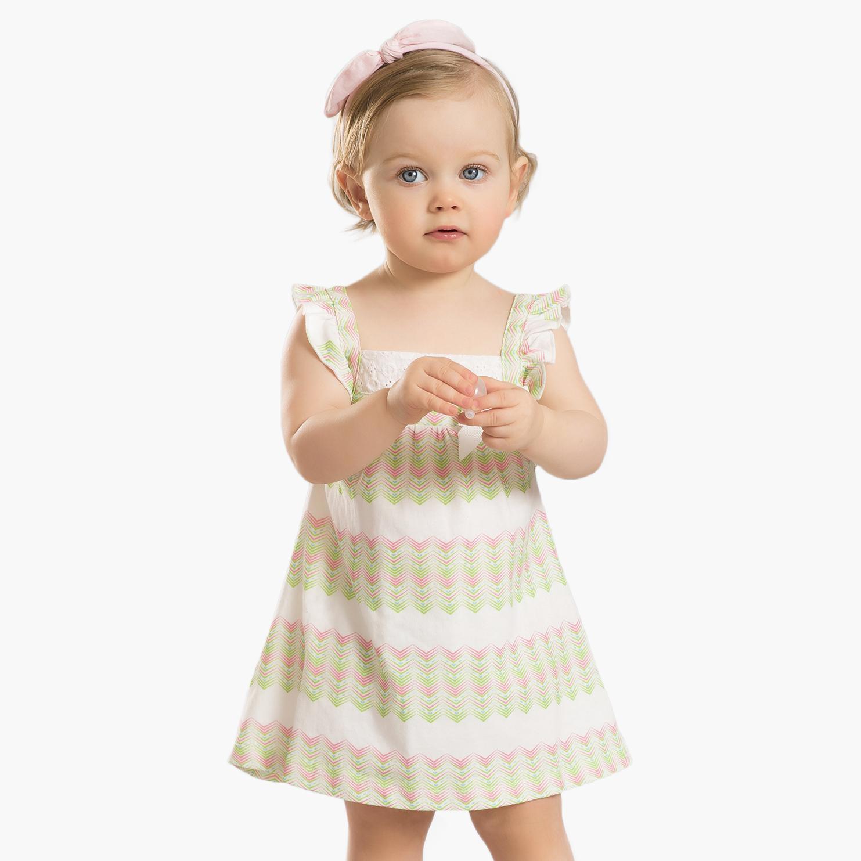 2015女童夏装新款宝宝条纹吊带连衣裙