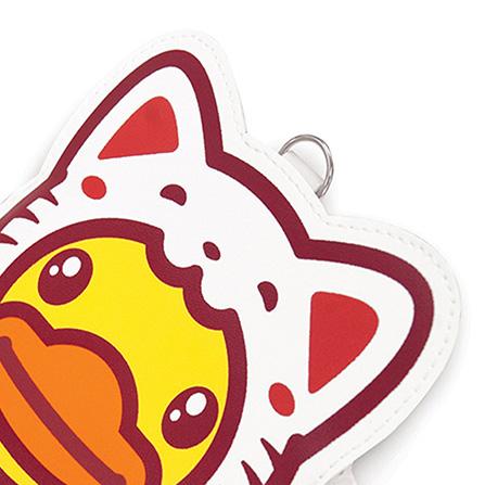 duck背包                    爆可爱的招财猫卡套,采用abs材质,光滑
