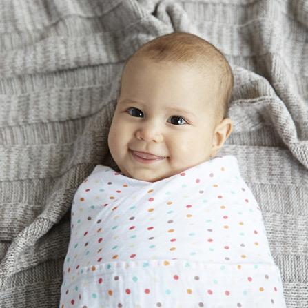 婴儿初生包裹巾待产包巾