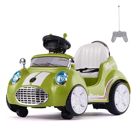 室内儿童电动车卡丁车 绿