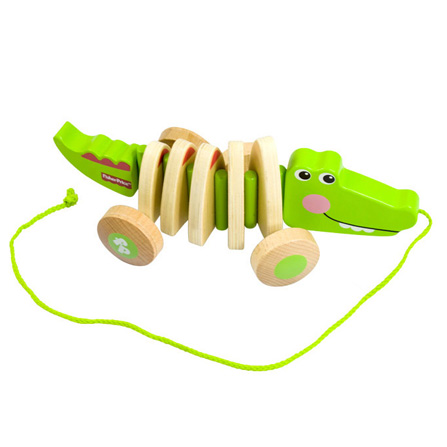 学步拖拉小动物 鳄鱼