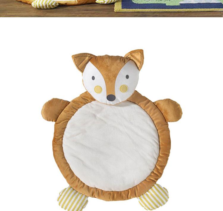 幼儿园环境墙面手工狐狸布置