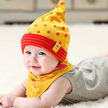 宝宝韩式三角巾