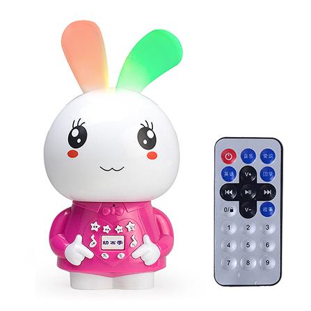 可爱兔子早教故事机 宝宝益智玩具