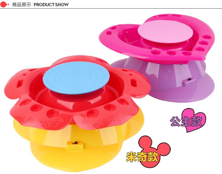 迪士尼 disney diy手工制作儿童益智玩具 送4块陶泥 米奇陶艺机 品牌