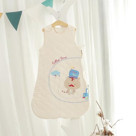 婴儿纯棉针织背心睡袋