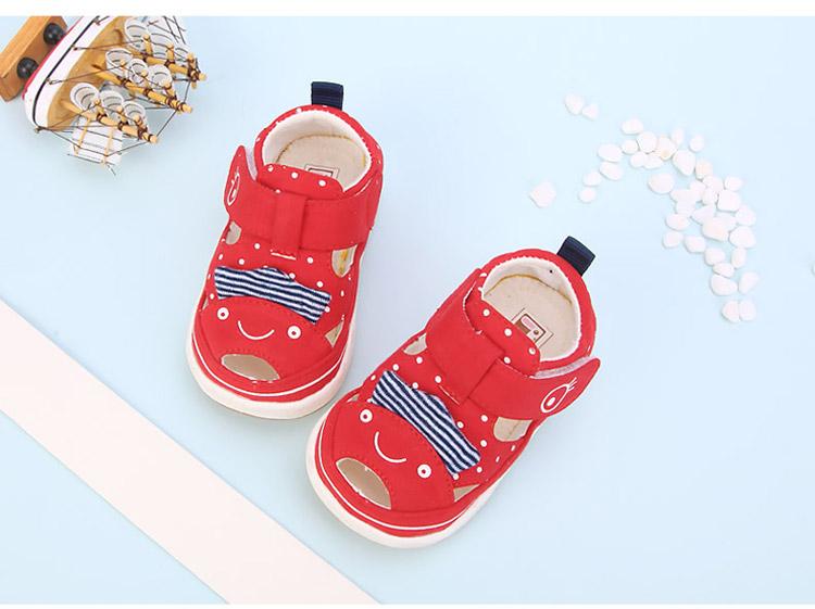宝宝防滑夏季凉鞋可爱小鸡学步鞋