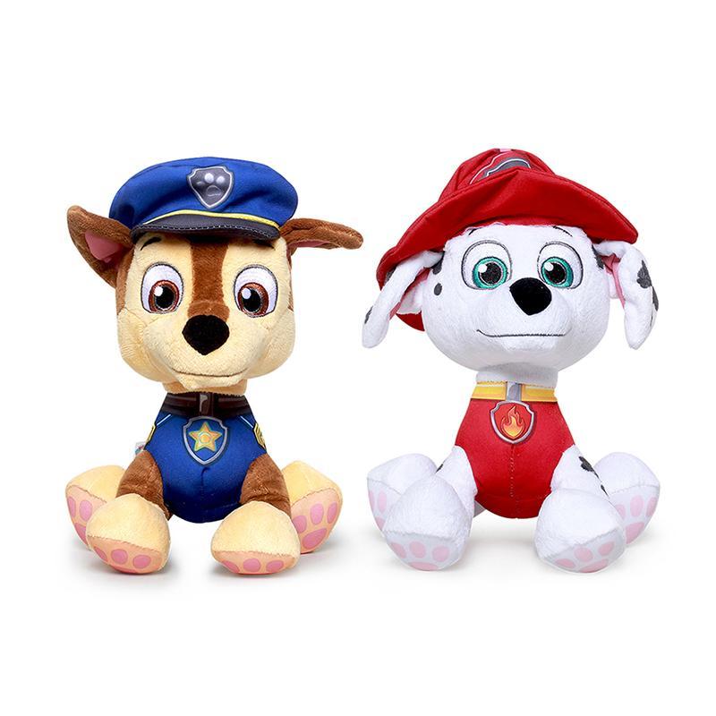 狗狗巡逻队毛绒公仔大号旺旺队小狗正版儿童玩具