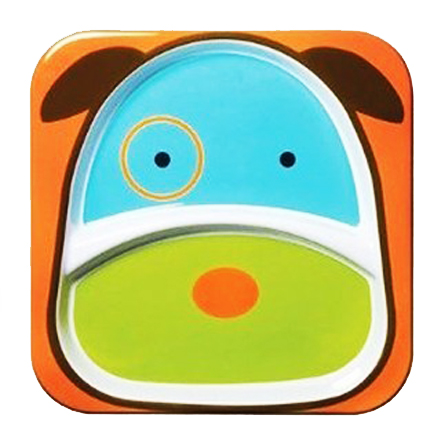 skip hop 可爱动物园餐具餐盘 小狗 品牌: skip hop 分类: 碗碟餐具