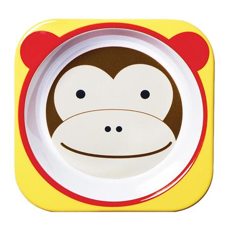 【zoo可爱动物园餐具餐碗(猴子)】