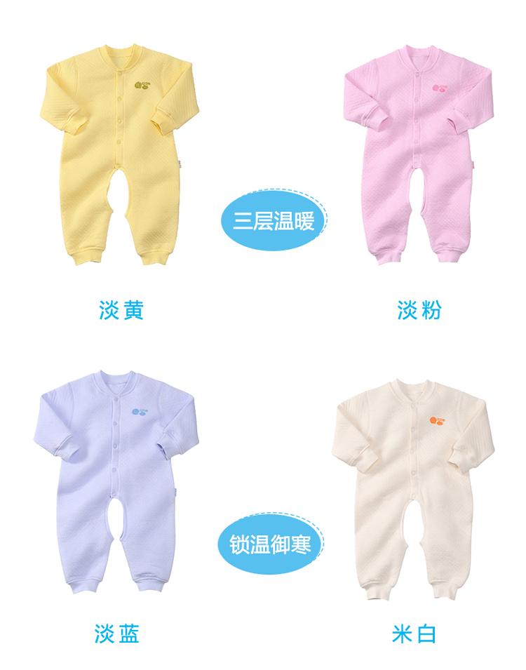 婴儿穿连体衣换尿布步骤
