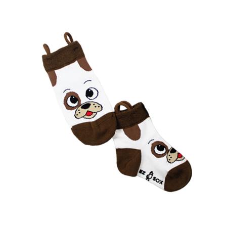 可爱狗狗和小熊短袜两双装 狗狗和小熊,简笔画得头像