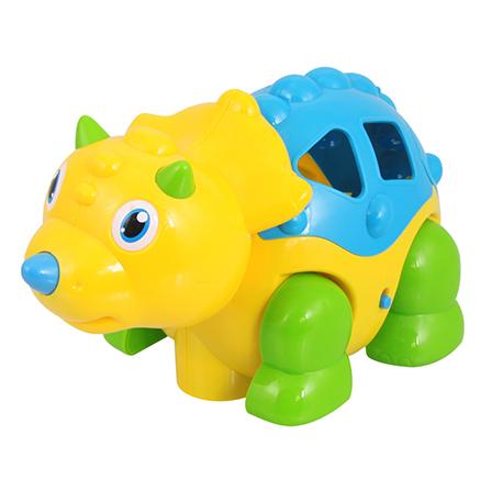 电动趣味三角龙 儿童宝宝音乐早教玩具