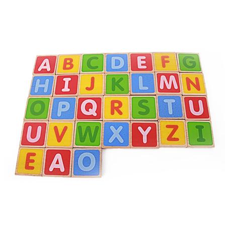 大写字母积木