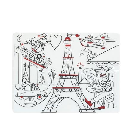 儿童硅胶餐垫(白日梦巴黎)【价格