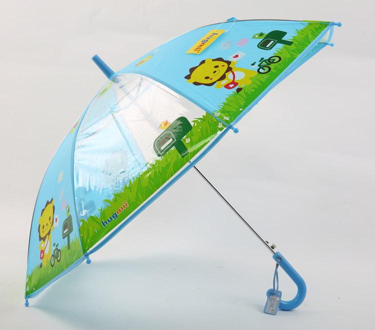 hugmii 儿童动物图案环保雨伞 狮子【价格 特卖 图片%
