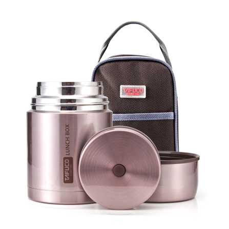 不锈钢保温保冷粥桶(含包)t2004