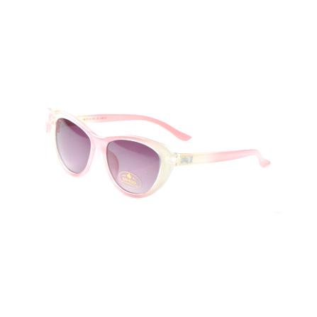 防紫外线儿童太阳镜公主可爱蝴蝶结 浅粉