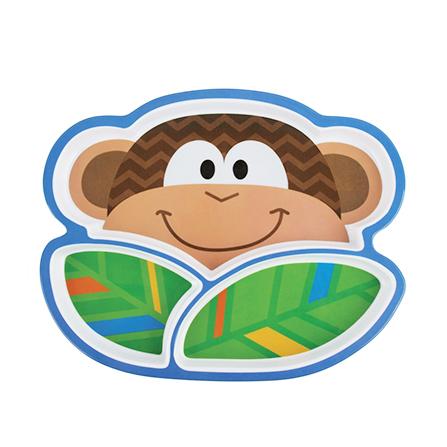 可爱小猴造型餐盘
