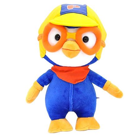 韩国公仔小企鹅毛绒玩具儿童可爱生日礼物 纯棉玩偶大号50cm